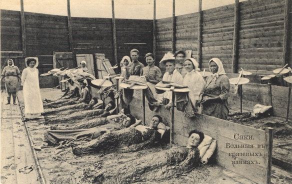 Лечение сакской грязью